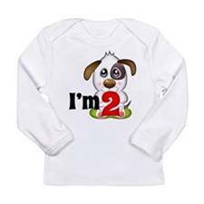 2nd Birthday Puppy Long Sleeve T-Shirt