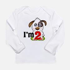2nd Birthday Puppy Long Sleeve T-Shirt