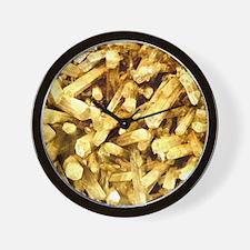 Earth Crystals Wall Clock