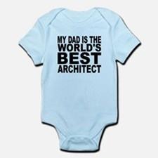 My Dad Is The Worlds Best Architect Body Suit