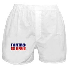 Im Retired Not Expired Light Boxer Shorts