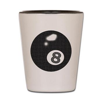 8 Ball Shot Glass  by OTC Billiards