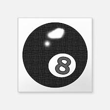 """8 Ball Square Sticker 3"""" x 3"""""""