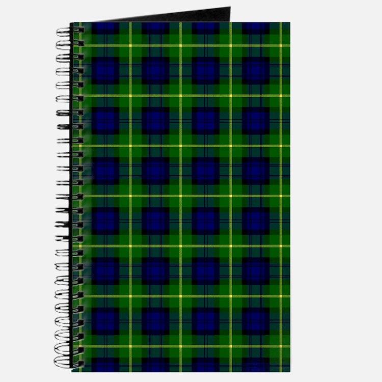 Gordon Scottish Clan Tartan Journal