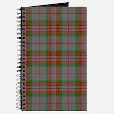 Gray Scottish Clan Tartan Journal
