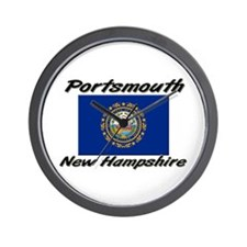 Portsmouth New Hampshire Wall Clock