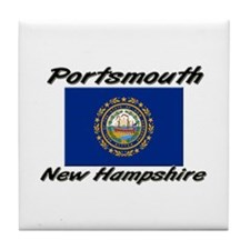 Portsmouth New Hampshire Tile Coaster