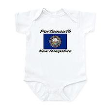 Portsmouth New Hampshire Infant Bodysuit