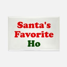 Santa's Favorite Ho Rectangle Magnet