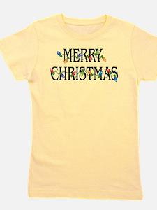 Unique Merry christmas Girl's Tee
