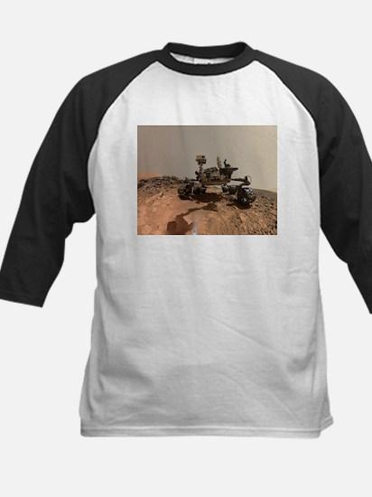 Mars Rover Curiosity Selfie Baseball Jersey