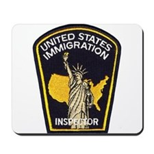 U.S. Immigration Mousepad