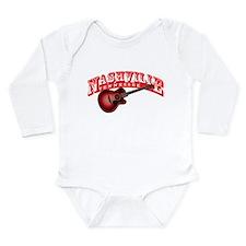 Unique Nashville tennessee Long Sleeve Infant Bodysuit