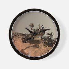 Mars Rover Curiosity Selfie Wall Clock