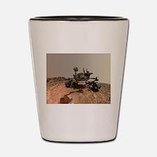 Mars Rover Curiosity Selfie Shot Glass