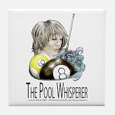 The Pool Whisperer Tile Coaster