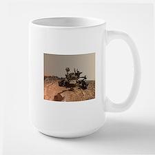 Mars Rover Curiosity Selfie Mugs