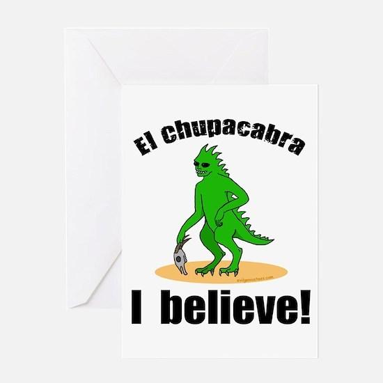ibelieve_chupa Greeting Cards