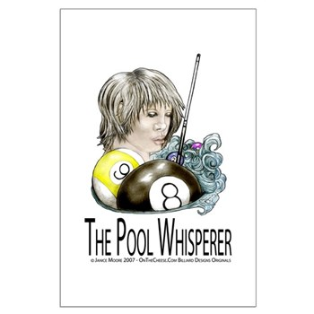 The Pool Whisperer Large Poster
