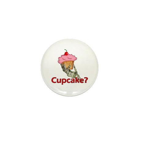 Skeleton Hand Cupcake Mini Button (10 pack)
