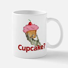 Skeleton Hand Cupcake Small Small Mug