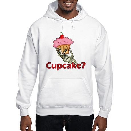 Skeleton Hand Cupcake Hooded Sweatshirt