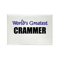 Worlds Greatest CRAMMER Rectangle Magnet