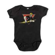 Funny Electrician Baby Bodysuit
