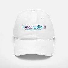 MacRadio Baseball Baseball Cap (White)