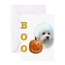 Funny Boo dog Greeting Card