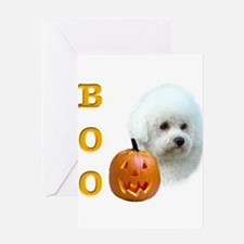 Unique Boo dog Greeting Card