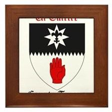 Ui Tuirtre - County Tyrone Framed Tile