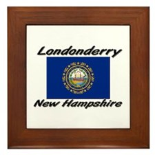 Londonderry New Hampshire Framed Tile