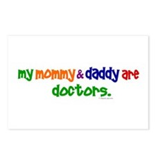 My Mommy & Daddy Are Doctors Postcards (Package of