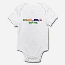 My Mommy & Daddy Are Doctors Infant Bodysuit