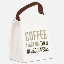 Coffee Then Neurogenesis Canvas Lunch Bag
