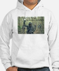 It's a Survival Thing Hoodie