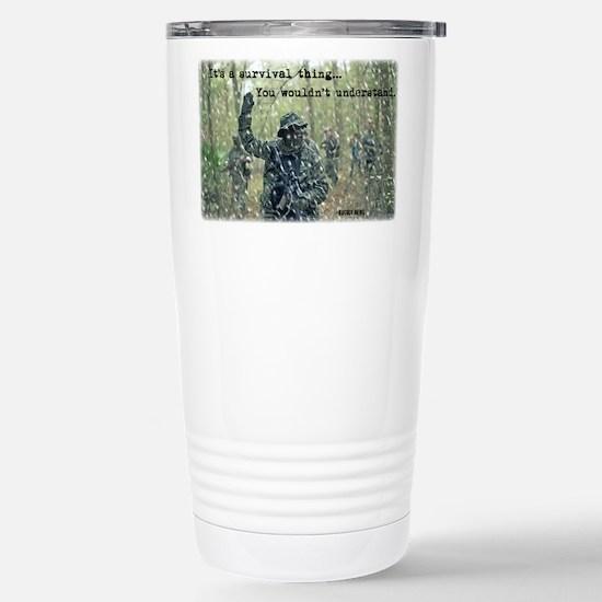 It's a Survival Thing Travel Mug