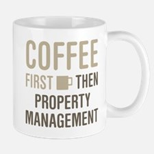 Coffee Then Property Management Mugs