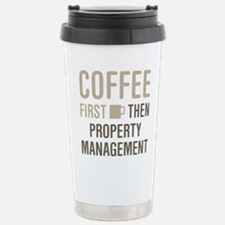 Coffee Then Property Ma Travel Mug