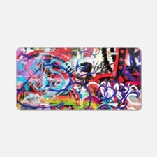 Artwork and artists Aluminum License Plate