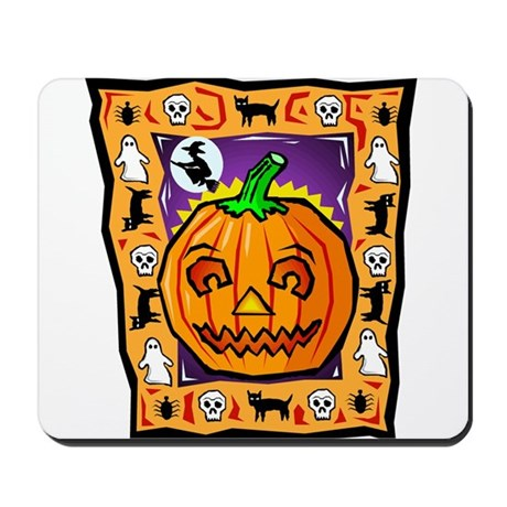 Halloween Collage Mousepad
