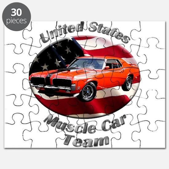 Mercury Cougar Eliminator Puzzle