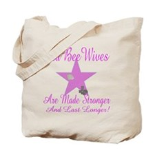 seabee wives made stroger to Tote Bag