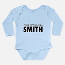 Cute Smith Long Sleeve Infant Bodysuit