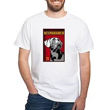 Cute Weimaraner art Shirt