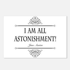 I Am All Astonishment Jane Austen Postcards (Packa