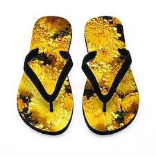 chrysanthemum Flip Flops