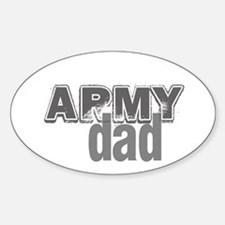 Army Dad Oval Decal