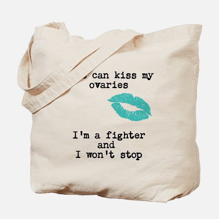 Kiss My PCOS Tote Bag